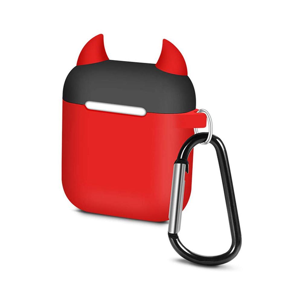 Чехол для наушников Upex для Apple AirPods Lofter Case Devil Red (UP78411)