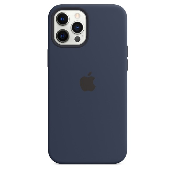 Чехол Silicone Case для iPhone 12 Pro Max Deep Navy with MagSafe (iS)
