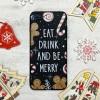 Чехол Upex Christmas Series для iPhone 8 Plus/7 Plus Eat and Drink (UP33160)