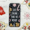 Чехол Upex Christmas Series для iPhone XS Eat and Drink (UP33162)