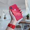 Чехол Upex Macaroon Case для iPhone XS/X Red (UP33523)