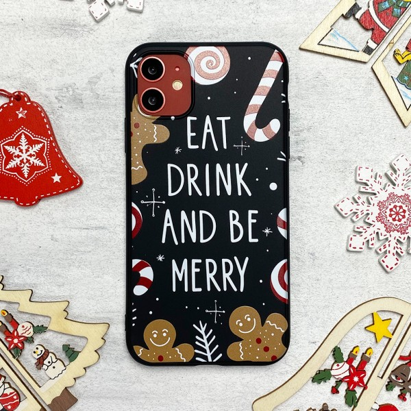 Чехол Upex Christmas Series для iPhone 11 Eat and Drink (UP36209)