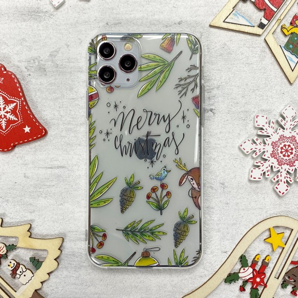 Чехол Upex Christmas Series для iPhone 11 Pro Merry Christmas (UP36214)