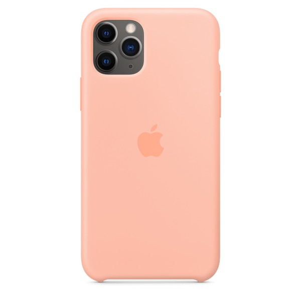 Чехол Silicone Case для iPhone 11 Pro Grapefruit OEM