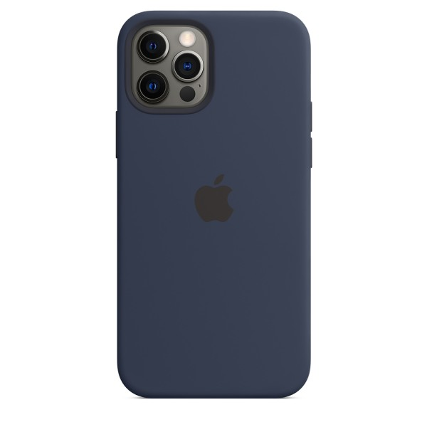 Чехол Silicone Case для iPhone 12 | 12 Pro Deep Navy without MagSafe (iS)