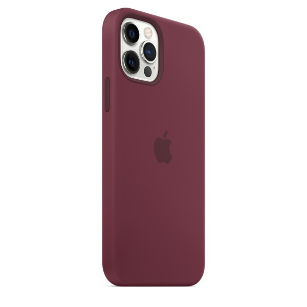 Чехол Silicone Case для iPhone 12 | 12 Pro Plum without MagSafe OEM