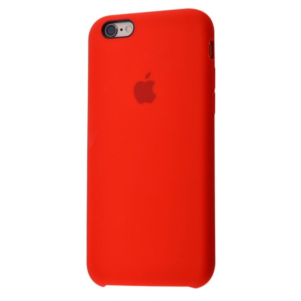 Чехол Silicone Case (copy) для iPhone 5/5s/SE Product RED