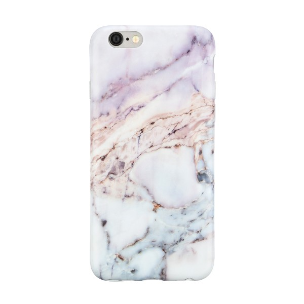 Чехол силиконовый для iPhone 6 Plus/6s Plus Marble Mountain Purple