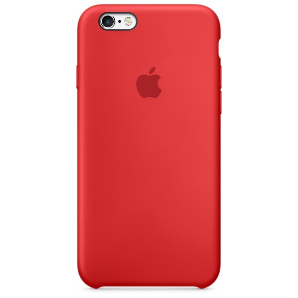Чехол Silicone Case для iPhone 6/6s Product(Red) (iS)