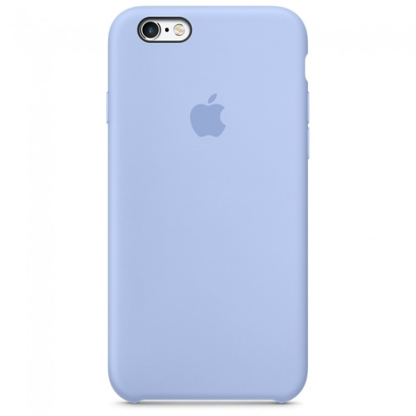 Чехол Silicone Case для iPhone 6/6s Lilac (iS)