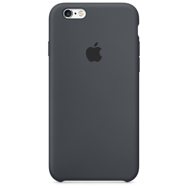 Чехол Silicone Case для iPhone 6/6s Charcoal Gray (iS)