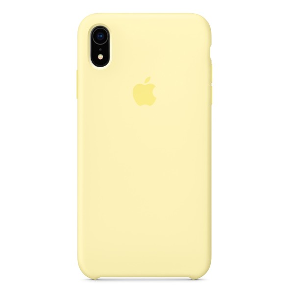 Чехол Silicone Case для iPhone XR Mellow Yellow (iS)