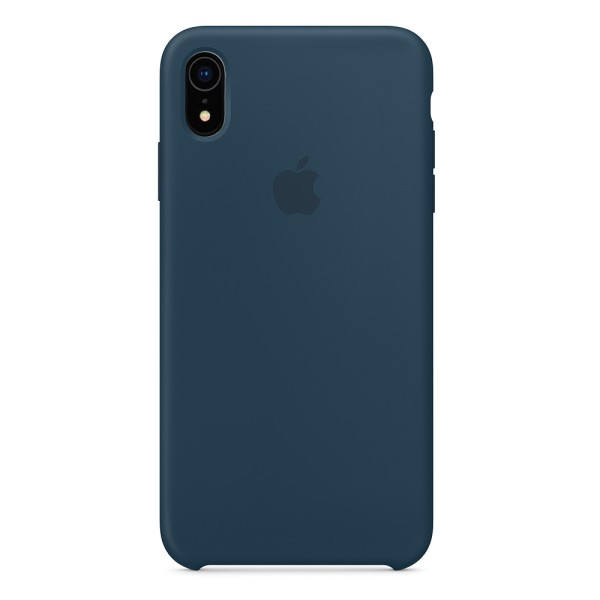 Чехол Silicone Case для iPhone XR Pacific Green (iS)