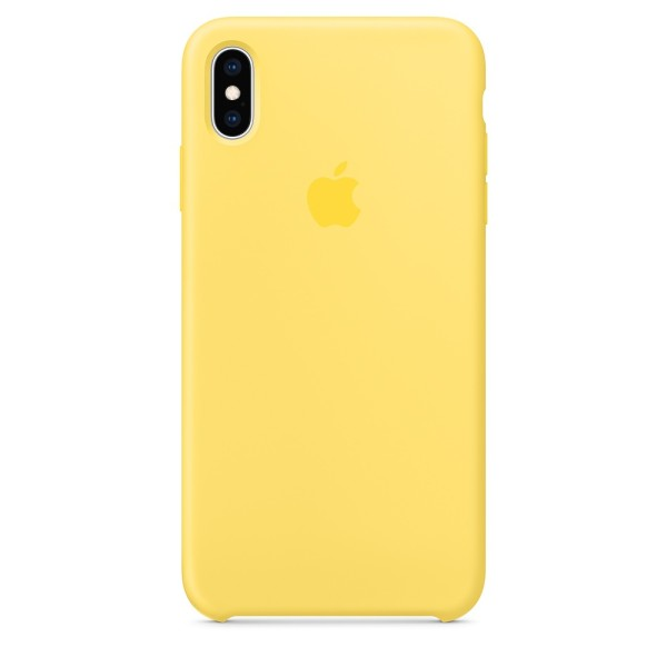 Чехол Silicone Case для iPhone XR Canary Yellow (iS)