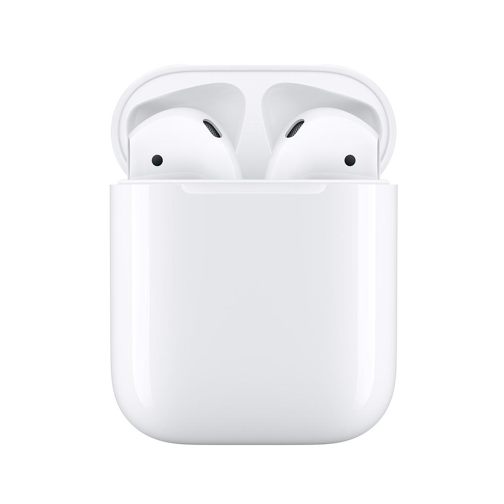 Наушники Apple AirPods 2019 (2 поколение) с зарядным кейсом (MV7N2)